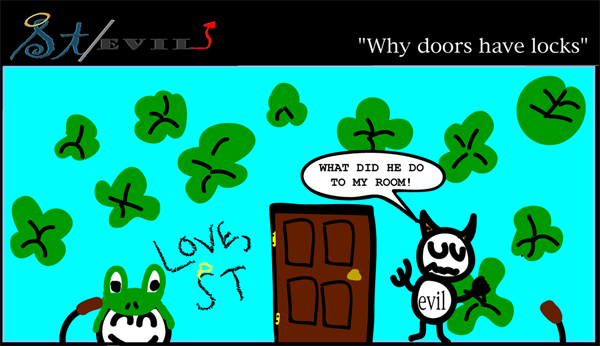 Why doors have locks