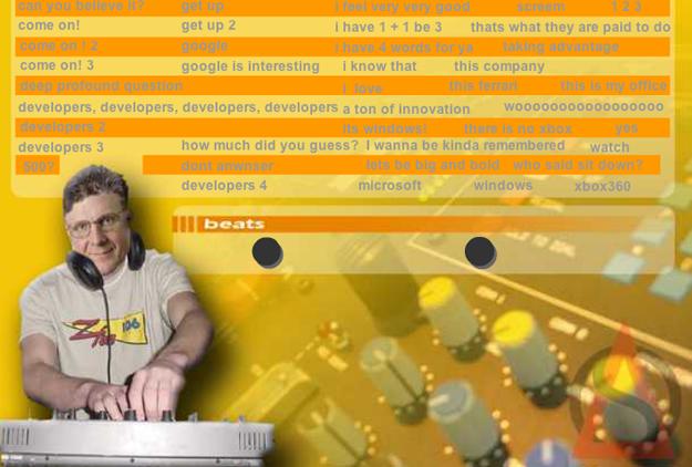 DJ Ballmer Fresh Sound Board