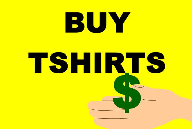 T-Shirt Advertisement